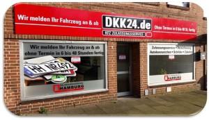 DKK24 KFZ Zulassungsservice Zulassungsdienst Burgstraße 12